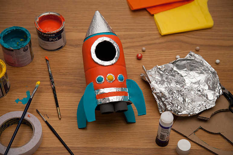 Kid's Rocket Making